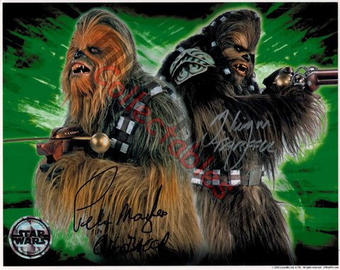 Michael Kingma & Peter Mayhew - Star Wars - Revenge of the Sith Duo