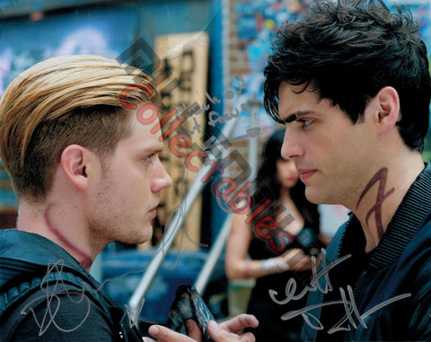 Dominic Sherwood & Matthew Daddario  - Shadow Hunters Duo