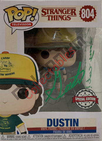 Dustin - Stranger Things POP(804) Exclusive  - Gaten Matarazzo