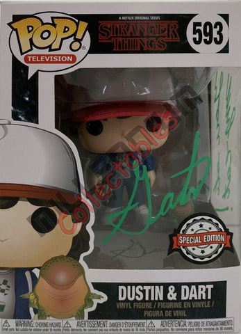 Dustin & Dart - Stranger Things POP(593) - Gaten Matarazzo