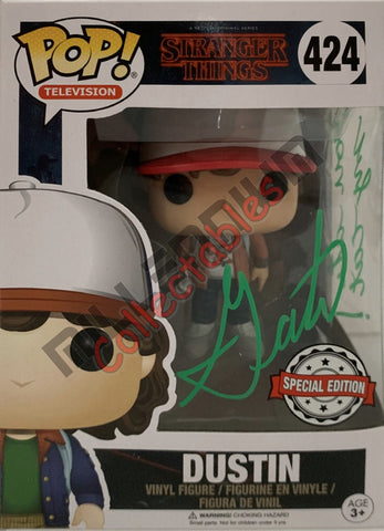 Dustin - Stranger Things POP(424) Exclusive - Gaten Matarazzo