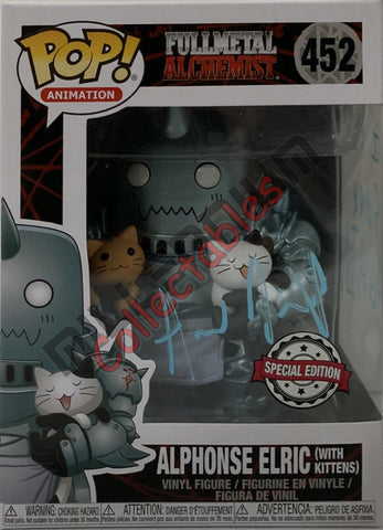 Alphonse Elric (with kittens) - Full Metal Alchemist POP (452) - Aaron Dismuke