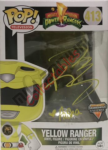 Yellow Ranger Morphin (413) POP - Karan Ashley