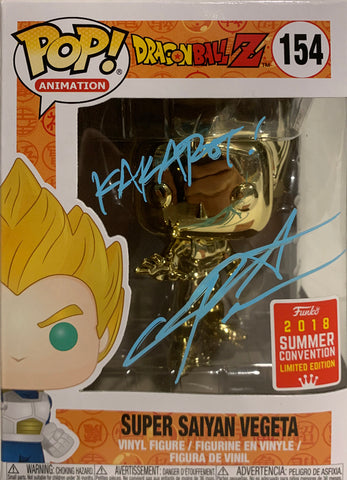 Super Saiyan Vegeta - Dragonball Z POP (445) Summer Exclusive 2018 - Christopher Sabat