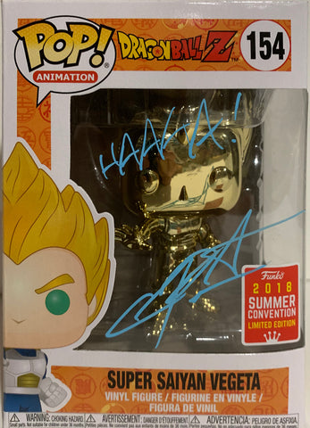 Super Saiyan Vegeta - Dragonball Z POP (445) Summer Exclusive 2020 - Christopher Sabat