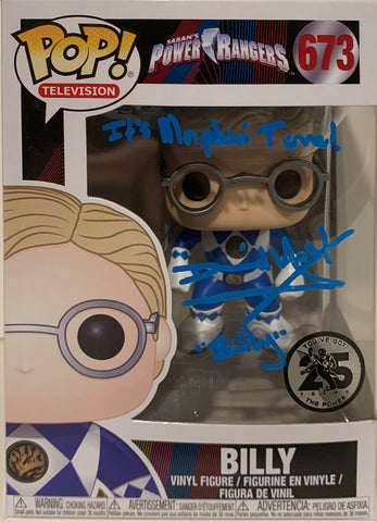 Billy - Saban's Power Rangers POP (673) - David Yost