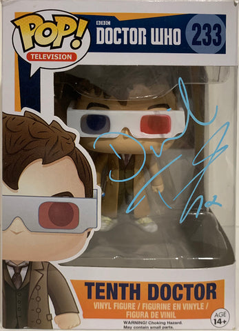 Tenth Doctor - Doctor Who POP (233) 3D Glasses - David Tennant