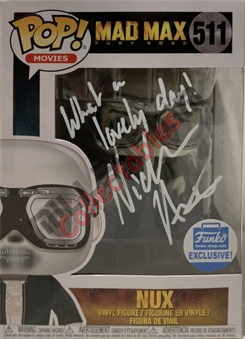Nux - Mad Max POP (511) Funko Excl - Nicholas Hoult