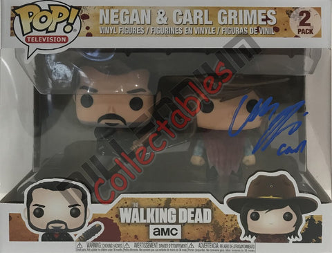Negan & Carl Grimes POP (2 pack)