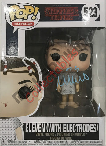 Eleven with Electrodes NYCC 2017 POP (523) - Millie Bobbie Brown