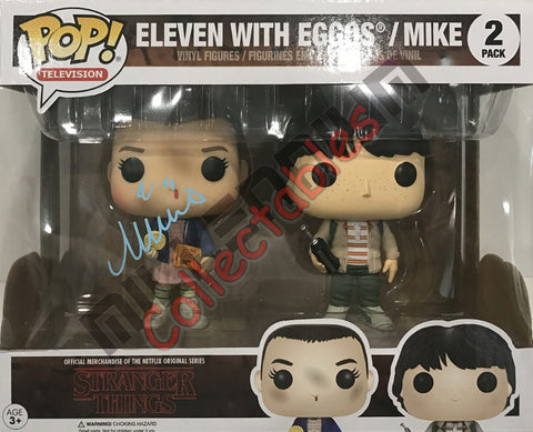 Eleven with Eggos / Mike POP (2pack) - Millie Bobbie Brown