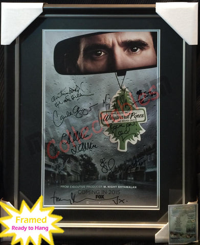 SDCC 2014 Exclusive Autographed Poster - Wayward Pines