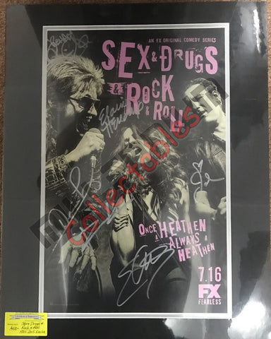 Sex & Drugs & Rock & Roll Cast Signing San Diego 2015 Exclusive #1/2