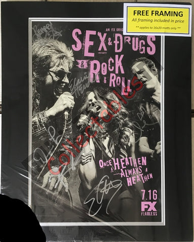 Sex & Drugs & Rock & Roll Cast Signing San Diego 2015 Exclusive #2/2