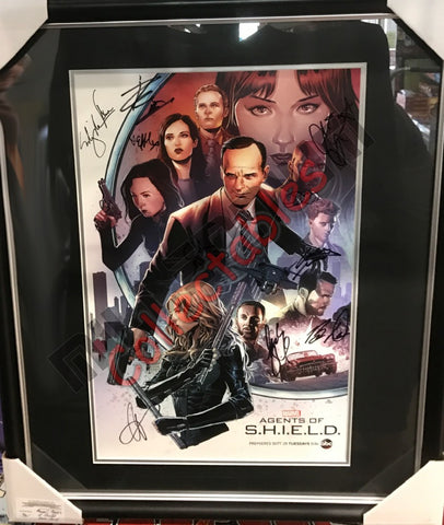 SDCC 2015 Exclusive Autographed Poster -MARVEL: Agents of S.H.I.E.L.D.