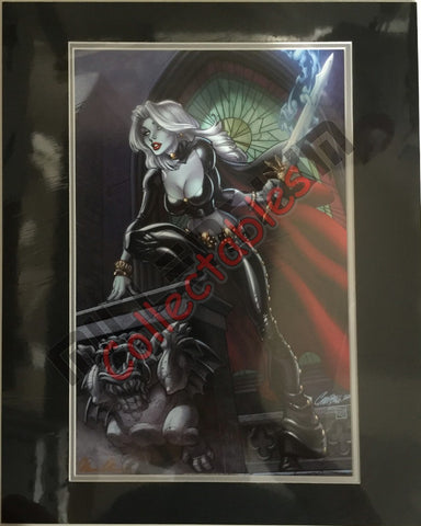 Artist Autographed Print - Brian Pulido - Lady Death - 3