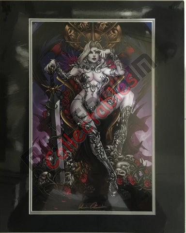 Artist Autographed Print - Brian Pulido - Lady Death - 5