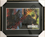 SDCC 2017 Exclusive Autographed Poster - Defenders