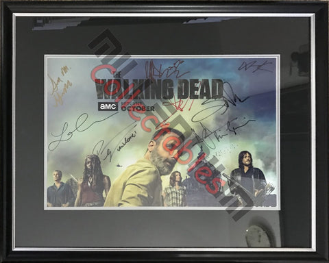 SDCC 2018 Exclusive Autographed Poster - The Walking Dead
