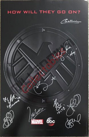 SDCC 2018 Exclusive Autographed Poster - Marvel: Agents of SHIELD