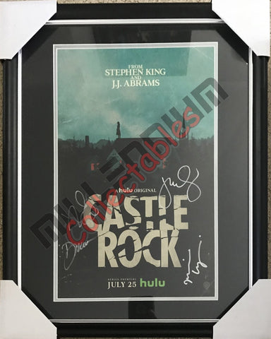 SDCC 2018 Exclusive Autographed Poster - Castle Rock