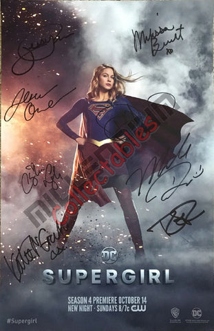 SDCC 2018 Exclusive Autographed Poster - Supergirl