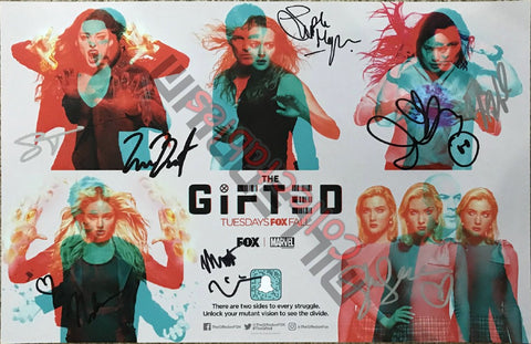 SDCC 2018 Exclusive Autographed Poster - Gifted