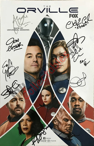 SDCC 2018 Exclusive Autographed Poster - The Orville