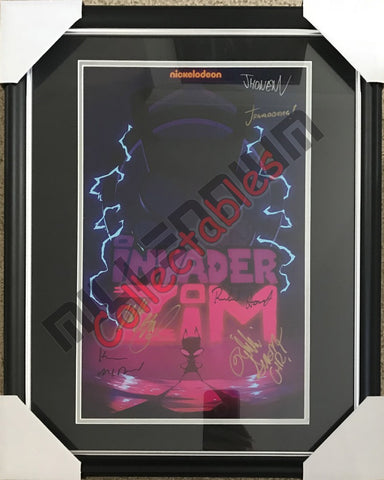 SDCC 2018 Exclusive Autographed Poster - Invader Zim