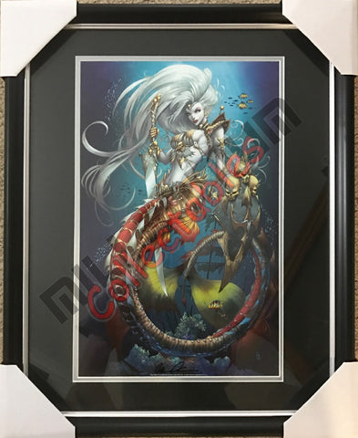SDCC 2017 Autographed Brian Pulido Print - Lady Death - Mermaid
