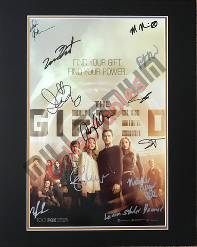 SDCC 2017 Exclusive Autographed Poster - The Gifted