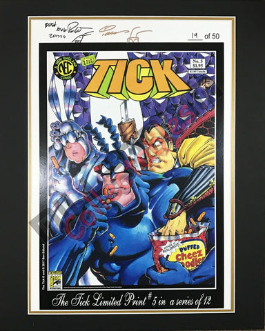 SDCC 2017 Exclusive Print - The Tick #5
