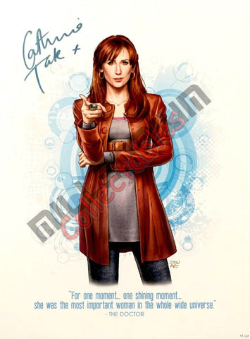 Catherine Tate - Stewart McKenny Signed Print