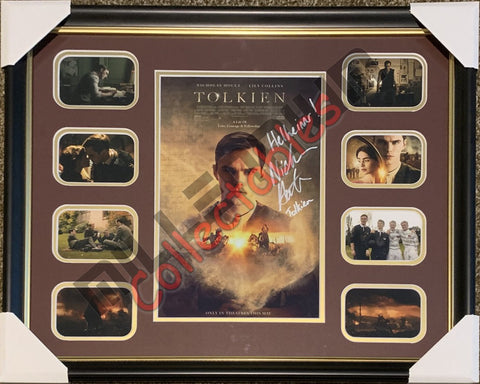 Tolkien Print - Large Frame - Nicholas Hoult - limited 10 pieces