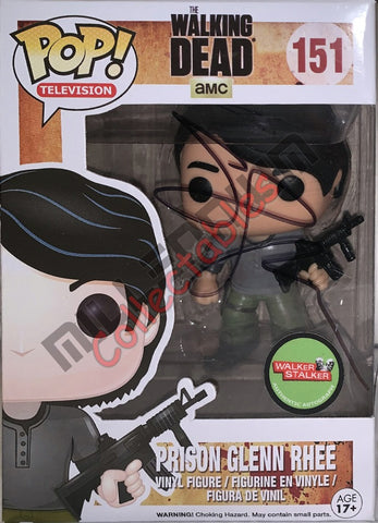 Prison Glen Rhee - The Walking Dead POP (151) WSC sticker - Steven Yeun