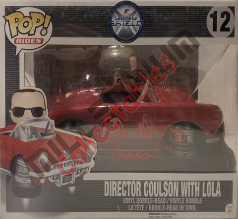 Director Coulson with Lola - SHIELD POP(12) - Clark Gregg