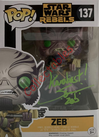 Zeb - Star Wars REBELS POP(137) - Steve Blum