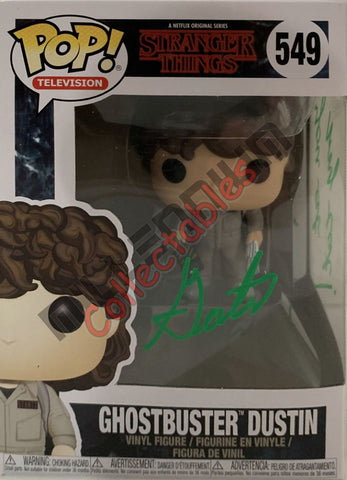 Ghostbuster Dustin - Stranger Things POP(549) - Gaten Matarazzo