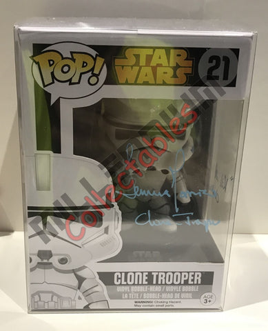 Clone Trooper Pop - Temuera Morrison