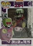 Invader Zim & Gir on the PIG POP (41) -  Jhonen Vasquez, Richard Horvitz & Rikki Simons