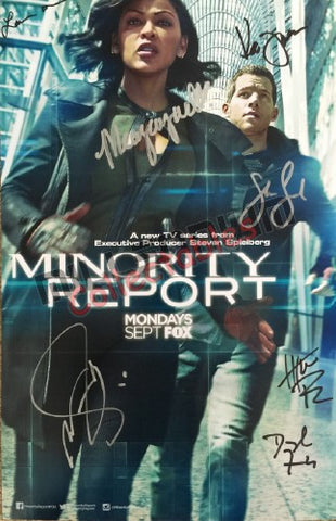 SDCC 2015 Exclusive Autographed Poster - Minority Report Cast Signing #2/2