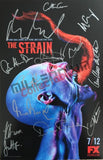 SDCC 2015 Exclusive Autographed Poster - The Strain Cast Signing #3/4