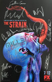 SDCC 2015 Exclusive Autographed Poster -  The Strain Cast Signing #4/4