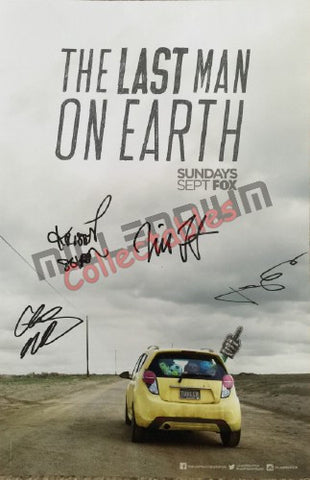 SDCC 2015 Exclusive Autographed Poster - Last Man on Earth Cast Signing #1/2
