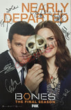 SDCC 2016 Exclusive Autographed Poster - Bones Cast