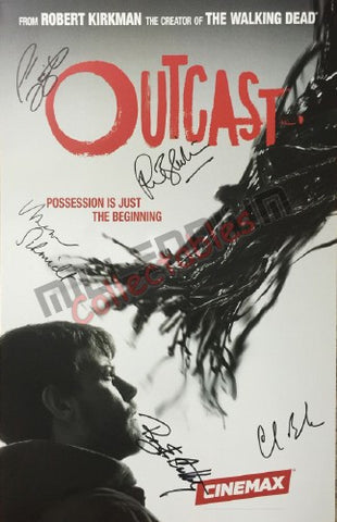 SDCC 2016 Exclusive Autographed Poster - Outcast #2/2