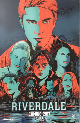 2016 Exclusive Autographed Poster - Riverdale