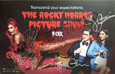SDCC 2016 Exclusive Autographed Poster - Rocky Horror Cast