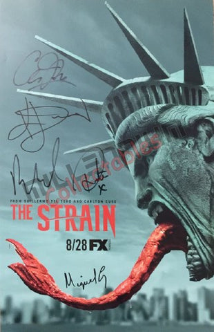 SDCC 2016 Exclusive Autographed Poster - The Strain Cast