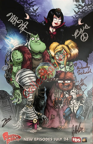 SDCC 2017 Exclusive Autographed Poster - American Dad